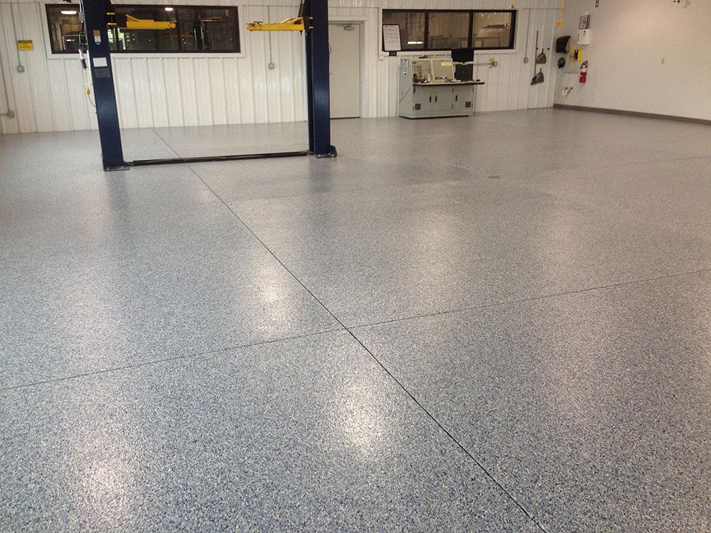Auto Mechanic Epoxy Flooring Philadelphia Epoxy - Mechanic shop flooring