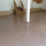 Garage Flake Insallation Beige