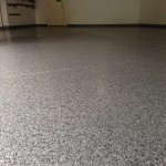 Garage Flake Insallation Grey