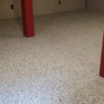 flake floor for residential basement