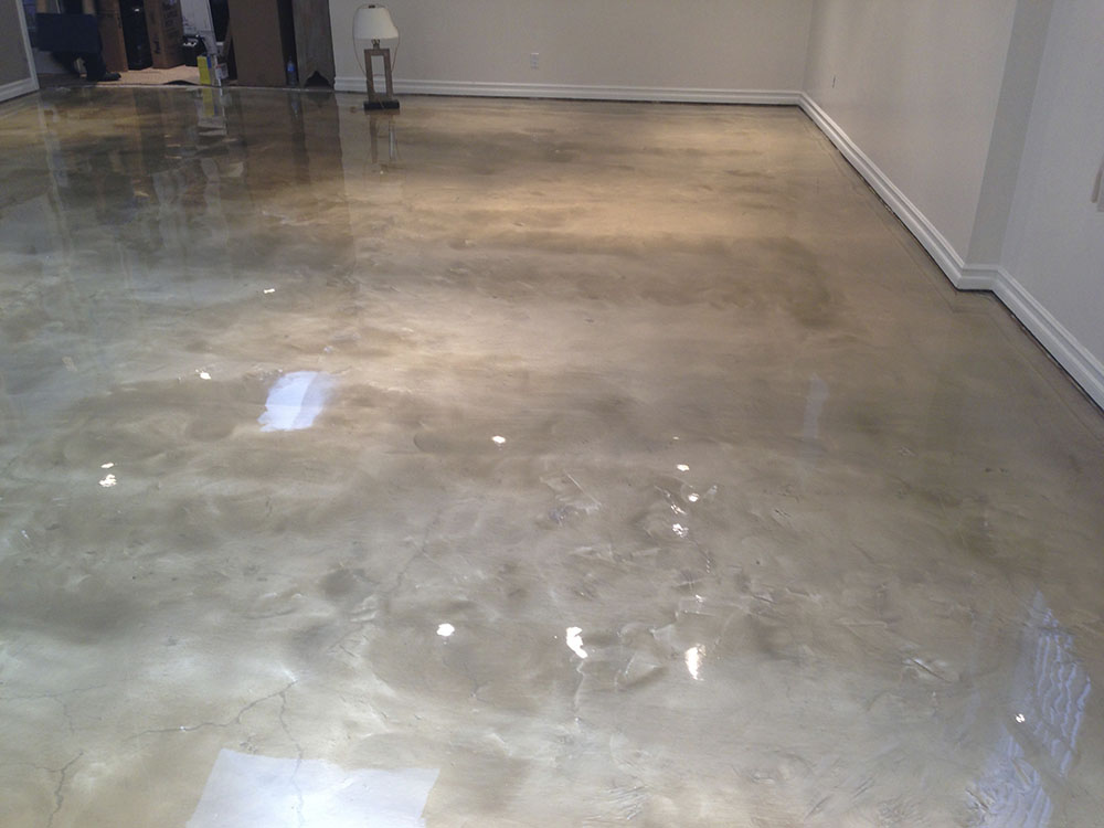 Philadelphia metalic epoxy flooring installer for Epoxy flooring