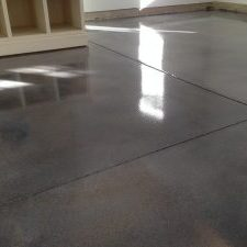 Garage Stain Installation Grey