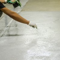 mans work epoxy floor
